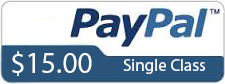 Iyogatransformation Single Class Paypal pay option